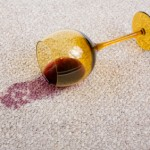 Wine spills or accidents on carpet, Carpet Cleaning Essex