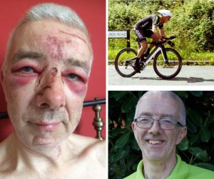 Ian Jackson - Owner of 4 Cleaner Carpets - Cycling Abuse 2017